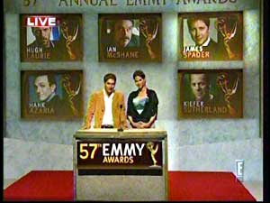 James Spader and William Shatner nominated for an Emmy!